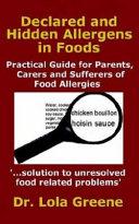 Declared and Hidden Allergens in Foods