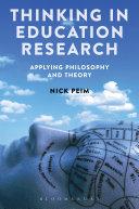 Thinking in Education Research Pdf/ePub eBook
