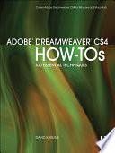 Adobe Dreamweaver Cs4 How Tos