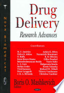 Drug Delivery Research Advances Book PDF