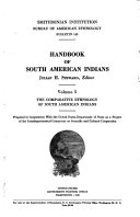 Handbook of South American Indians