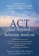 ACT and Applied Behavior Analysis