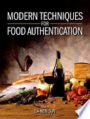 Modern Techniques For Food Authentication Book PDF