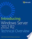 Introducing Windows Server 2012 R2 Book