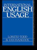 Pdf International English Usage Telecharger