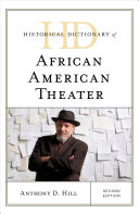 link to Historical dictionary of African American theater in the TCC library catalog