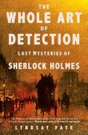 The Whole Art of Detection [Pdf/ePub] eBook