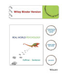 Real World Psychology, Binder Ready Version