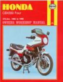 Honda CBX550 Owners Workshop Manual