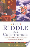 The Riddle of All Constitutions