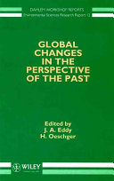 Global Changes in the Perspective of the Past