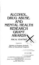 Alcohol  Drug Abuse  Mental Health  Research Grant Awards