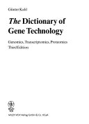 The Dictionary Of Gene Technology Book PDF