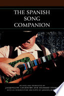 """The Spanish Song Companion"" by Richard Stokes, Jacqueline Cockburn, Graham Johnson"