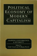Political Economy of Modern Capitalism