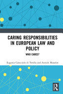 Pdf Caring Responsibilities in European Law and Policy Telecharger