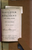A Daughter of the Regiment