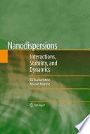 Nanodispersions Book
