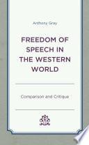 Freedom of Speech in the Western World