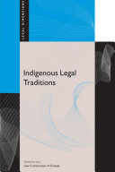Indigenous Legal Traditions