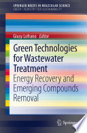 Green Technologies For Wastewater Treatment Book PDF