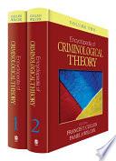 Encyclopedia of Criminological Theory