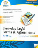 Everyday Legal Forms Agreements Google Books - Socrates legal forms