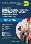 Pdf Concours Assistant (principal) territorial de conservation du patrimoine et des bibliothèques Telecharger