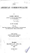 The party system  Public opinion  Illustrations and reflections  Social institutions
