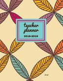 Teacher Planner 2018   2019 Dorsal