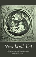 New Book List