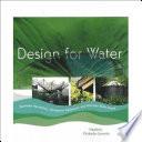 Design For Water Book PDF