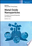 Metal Oxide Nanoparticles  2 Volume Set