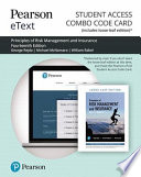Principles of Risk Management and Insurance Pearson Etext Combo Access Card