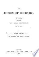The Daemon of Socrates Book