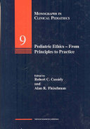 Pediatric Ethics - from Princ-