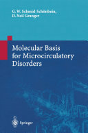 Molecular Basis for Microcirculatory Disorders