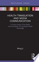 Health Translation and Media Communication