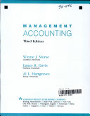 Morse Management Accounting Software Package