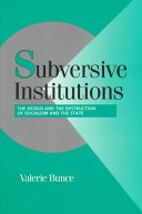 Subversive Institutions