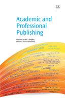 Academic and Professional Publishing [Pdf/ePub] eBook
