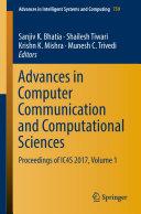 Advances in Computer Communication and Computational Sciences [Pdf/ePub] eBook