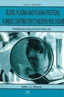 Blood, Plasma, and Plasma Proteins ebook
