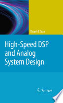 High Speed DSP and Analog System Design Book