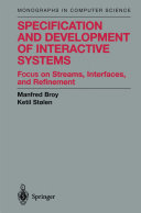 Specification and Development of Interactive Systems Pdf/ePub eBook