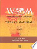 15th Wear of Materials Book
