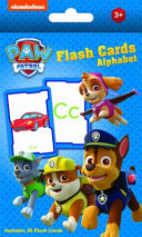 Paw Patrol Alphabet Flash Cards Book