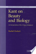 Kant On Beauty And Biology