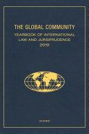 The Global Community Yearbook of International Law and Jurisprudence 2019 Pdf/ePub eBook