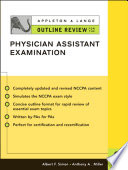 Appleton   Lange Outline Review for the Physician Assistant Examination  Second Edition